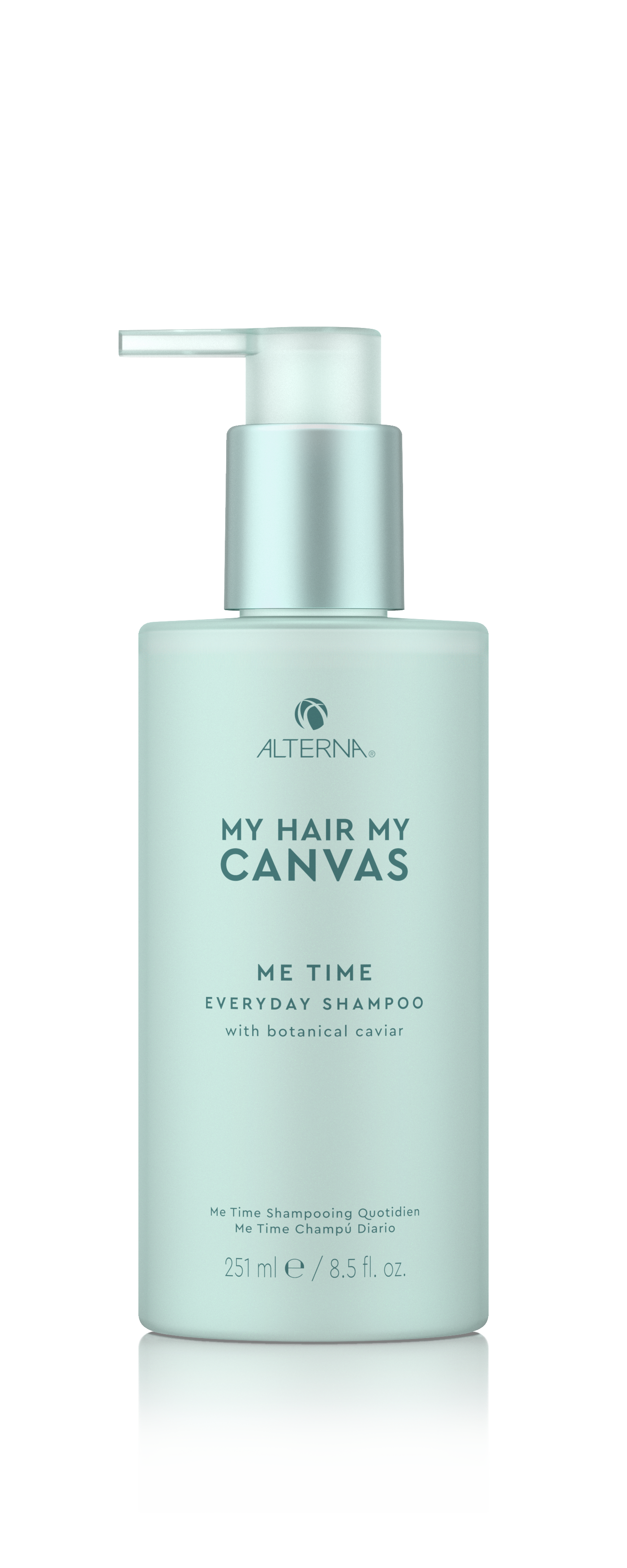 My Hair. My Canvas. Me Time Everyday Shampoo