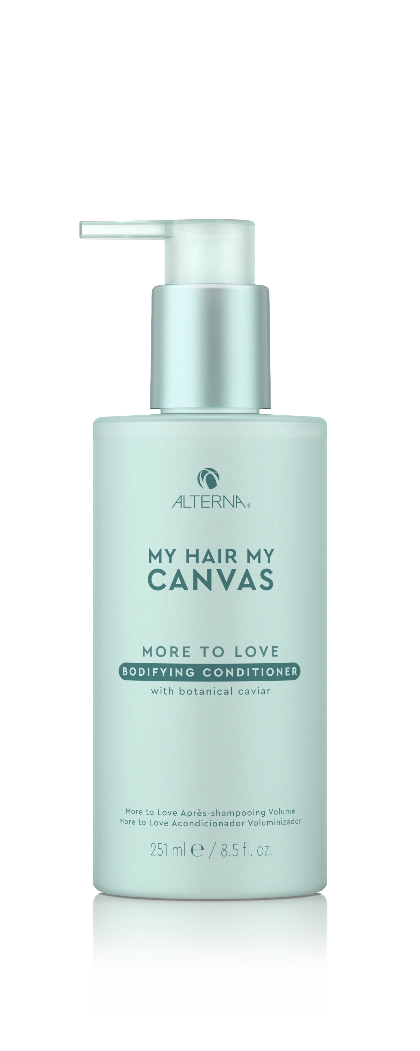 My Hair. My Canvas. More To Love Bodifying Conditioner