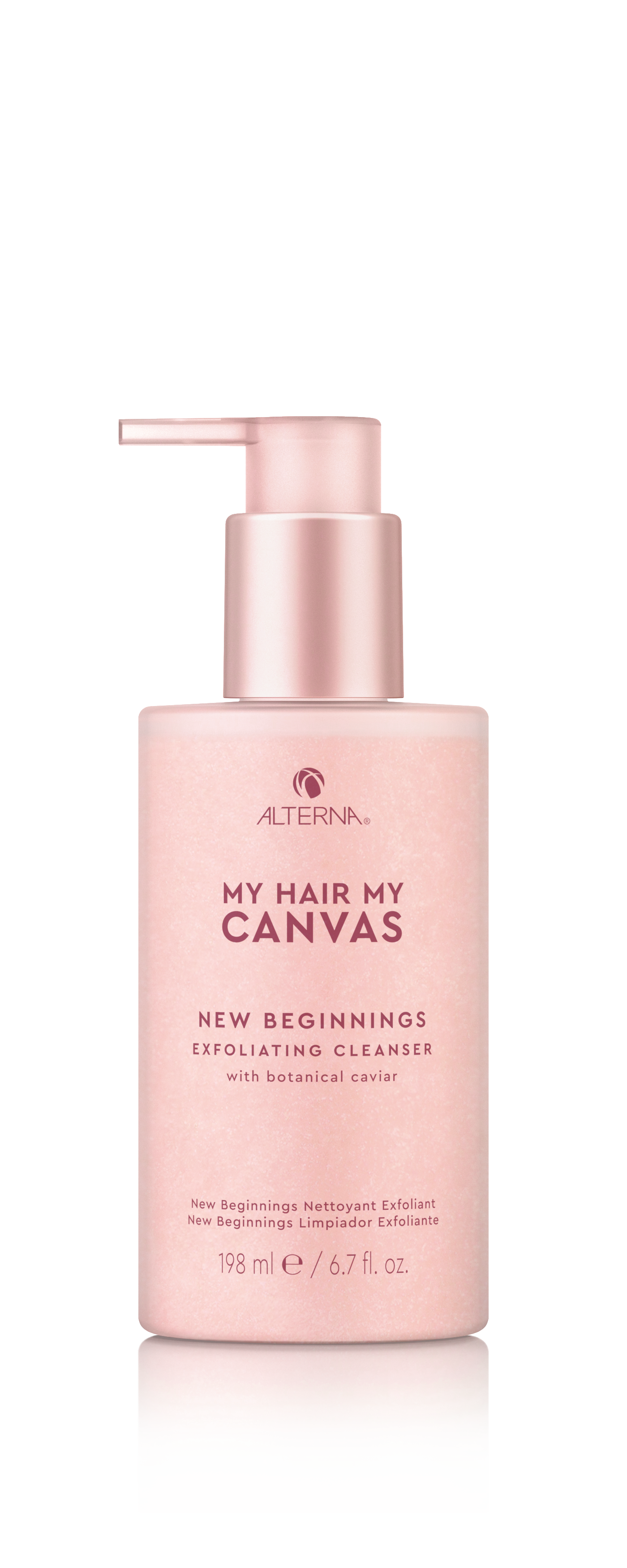 My Hair. My Canvas. New Beginnings Exfoliating Cleanser